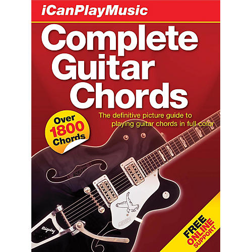 Music Sales I Can Play Music: Complete Guitar Chords Music Sales America Series Hardcover Written by Various Authors-thumbnail