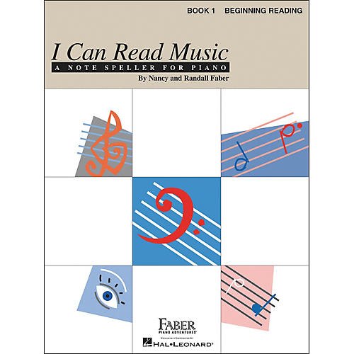 Faber Piano Adventures I Can Read Music Book 1 Note Speller for Piano Beginning Reading - Faber Piano-thumbnail