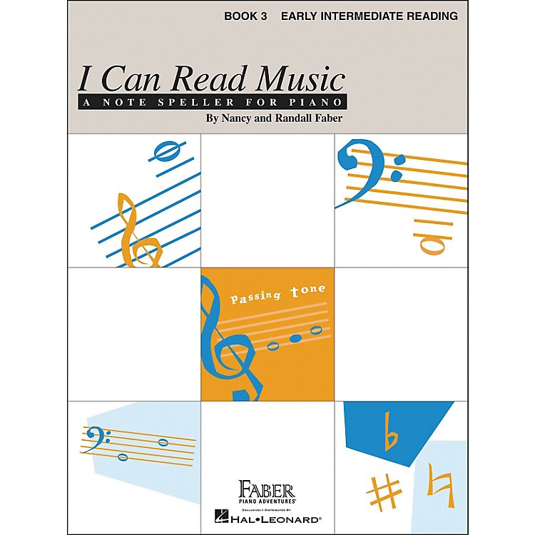 Faber Music I Can Read Music Book 3 - Early Intermediate Reading - Faber Piano