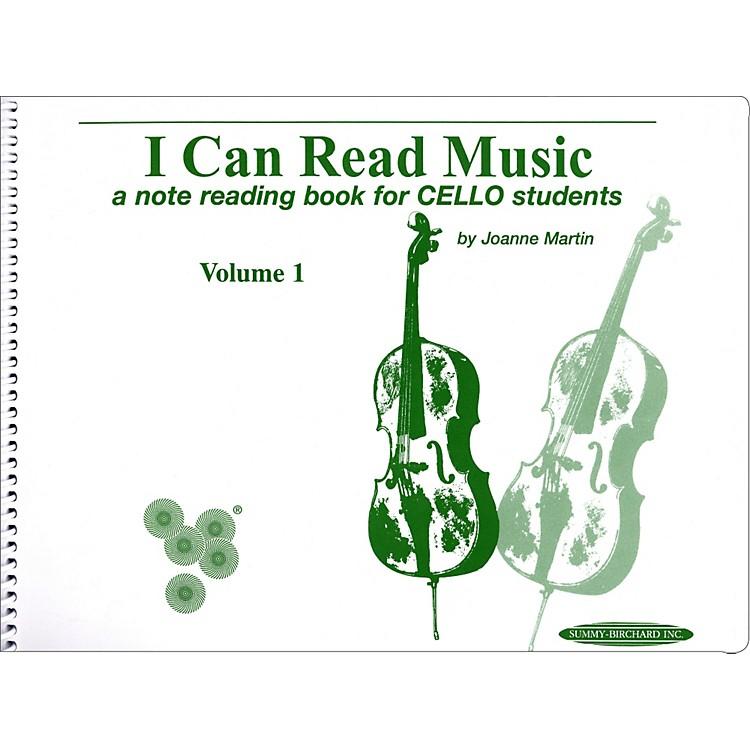 AlfredI Can Read Music for Cello, Volume 1 Book