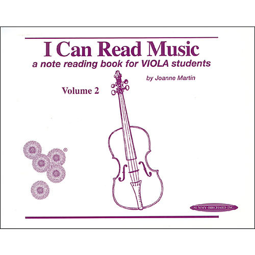 Alfred I Can Read Music for Viola, Volume 2 Book