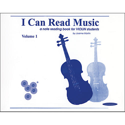 Alfred I Can Read Music for Violin, Volume 1 Book-thumbnail