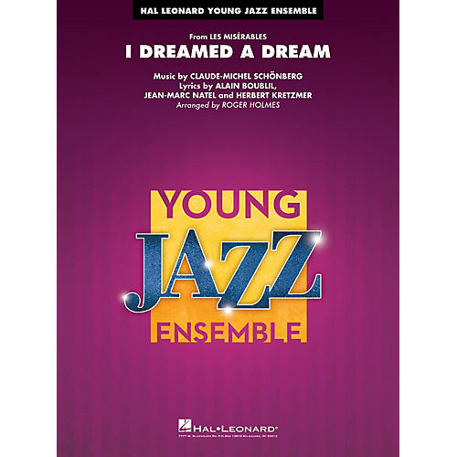 Hal Leonard I Dreamed a Dream (from Les Misérables) Jazz Band Level 3 Arranged by Roger Holmes-thumbnail