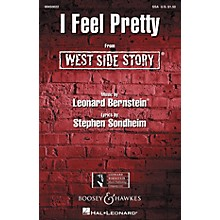 Leonard Bernstein Music I Feel Pretty (from West Side Story) (SSA) SSA Arranged by William Stickles