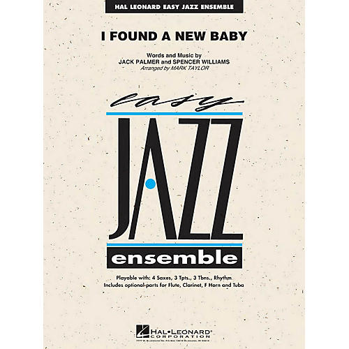 Hal Leonard I Found a New Baby Jazz Band Level 2 Arranged by Mark Taylor-thumbnail