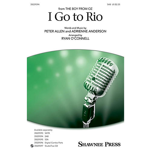 Shawnee Press I Go to Rio SAB arranged by Ryan O'Connell-thumbnail