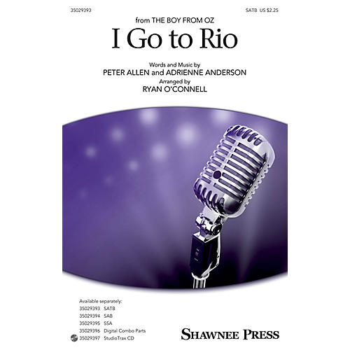 Shawnee Press I Go to Rio SATB arranged by Ryan O'Connell-thumbnail