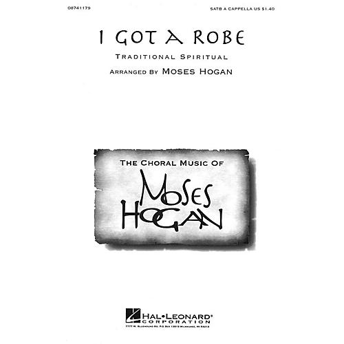 Hal Leonard I Got a Robe SATB a cappella arranged by Moses Hogan