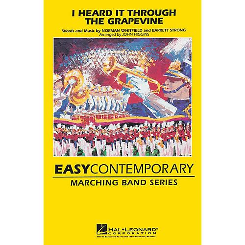 Hal Leonard I Heard It Through the Grapevine Marching Band Level 2 Arranged by John Higgins