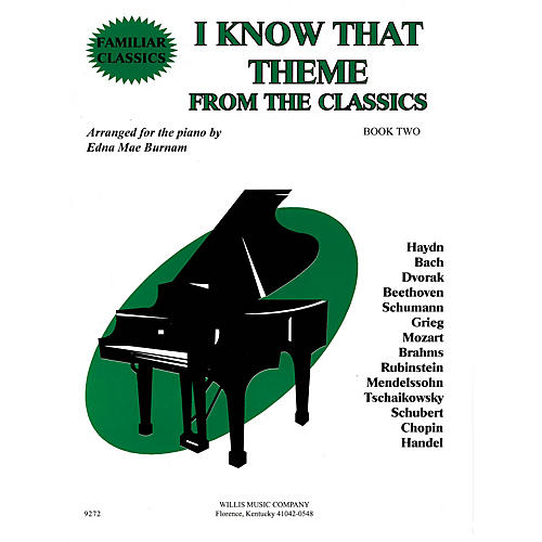 Willis Music I Know That Theme from the Classics (Book 2/Mid-Elem Level) Willis Series-thumbnail
