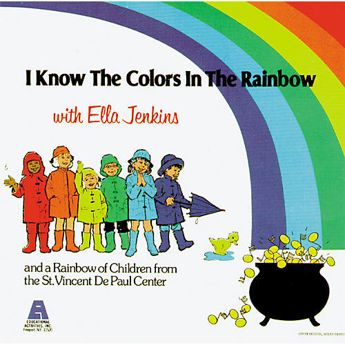 Educational Activities I Know The Colors Of The Rainbow (Cassette)-thumbnail