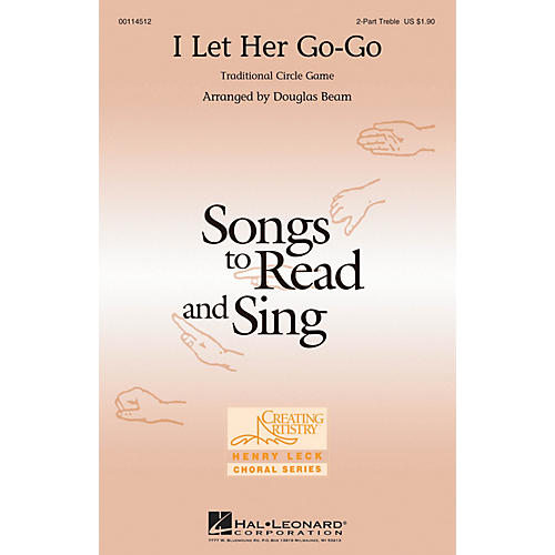 Hal Leonard I Let Her Go-go 2PT TREBLE arranged by Douglas Beam-thumbnail