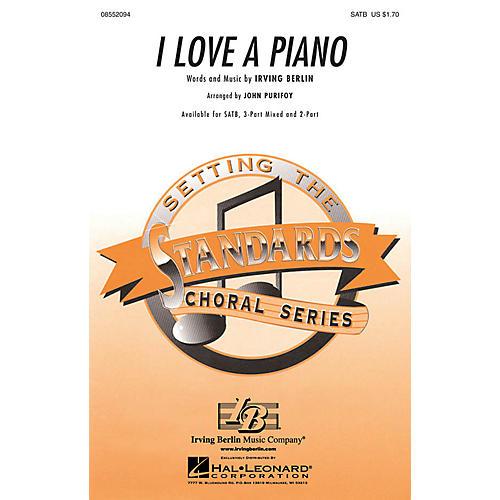 Hal Leonard I Love a Piano SATB arranged by John Purifoy-thumbnail