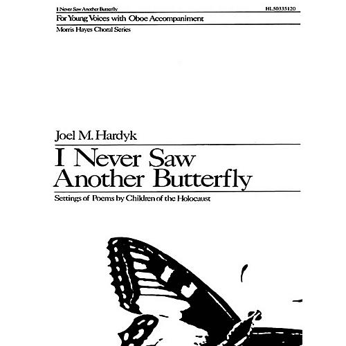 G. Schirmer I Never Saw Another Butterfly (SA) SA composed by Joel M. Hardyk-thumbnail