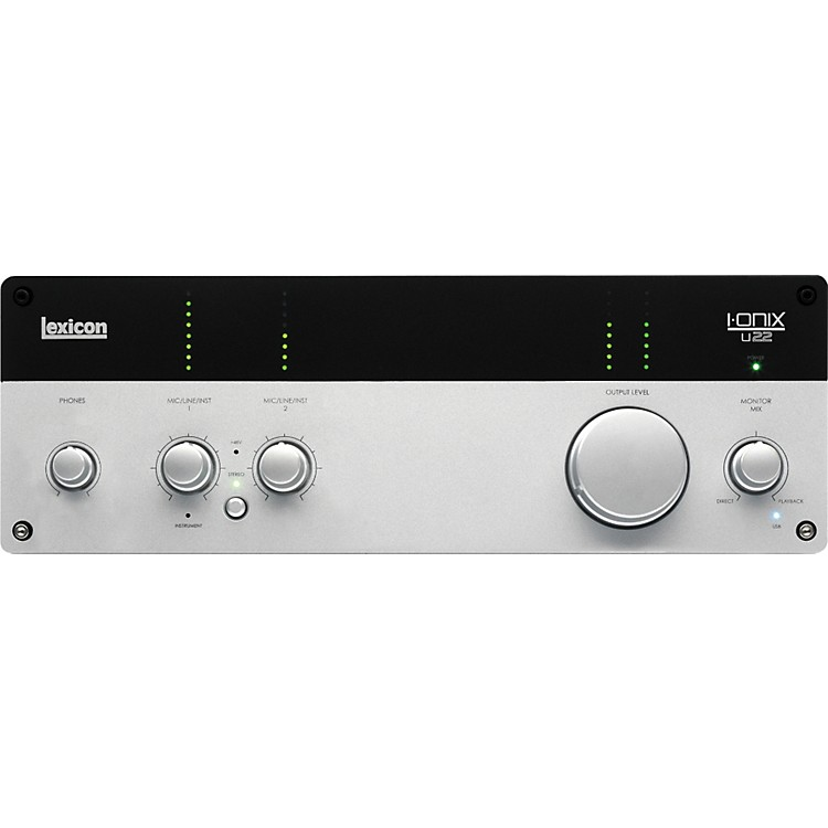 LexiconI-ONIX U22 USB 2.0 Audio/MIDI Interface
