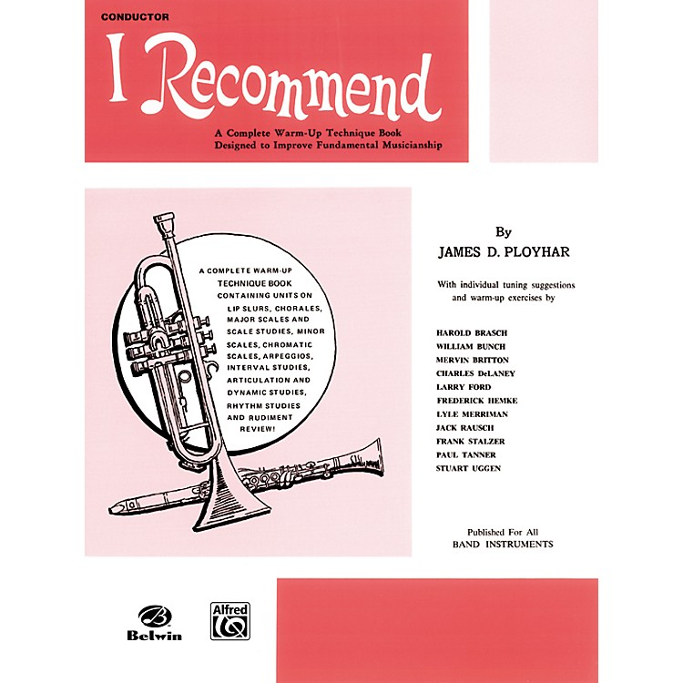 Alfred I Recommend B-Flat Clarinet