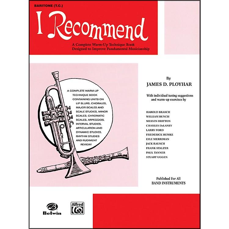 AlfredI Recommend Baritone (T.C.)