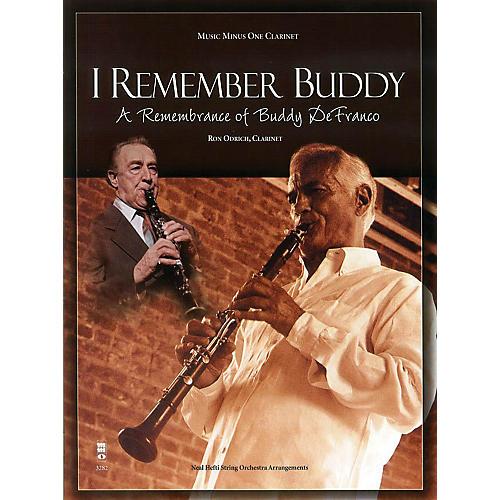 Music Minus One I Remember Buddy (A Remembrance of Buddy DeFranco) Music Minus One Series BK/CD by Ron Odrich-thumbnail