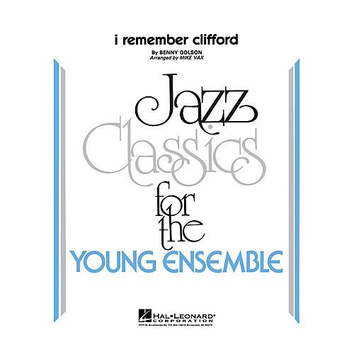Hal Leonard I Remember Clifford Jazz Band Level 3 Arranged by Vax