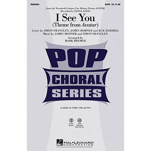Hal Leonard I See You SAB by Leona Lewis Arranged by Mark Brymer-thumbnail