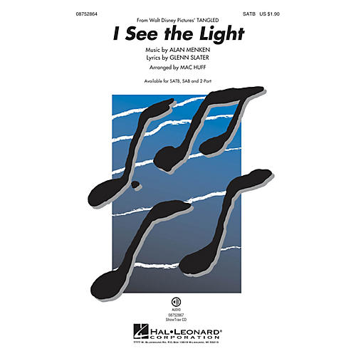 Hal Leonard I See the Light (from Walt Disney Pictures' Tangled) SATB arranged by Mac Huff-thumbnail