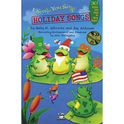 Alfred I Sing, You Sing: Holiday Songs Book/CD