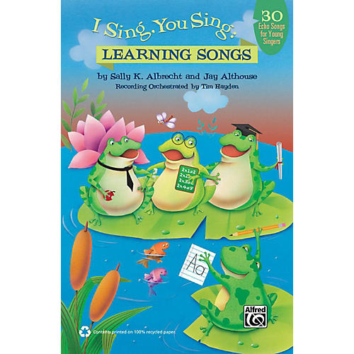 Alfred I Sing, You Sing Learning Songs Book & CD-thumbnail