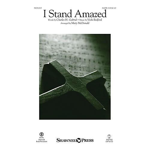 Shawnee Press I Stand Amazed SATB arranged by Mary McDonald-thumbnail