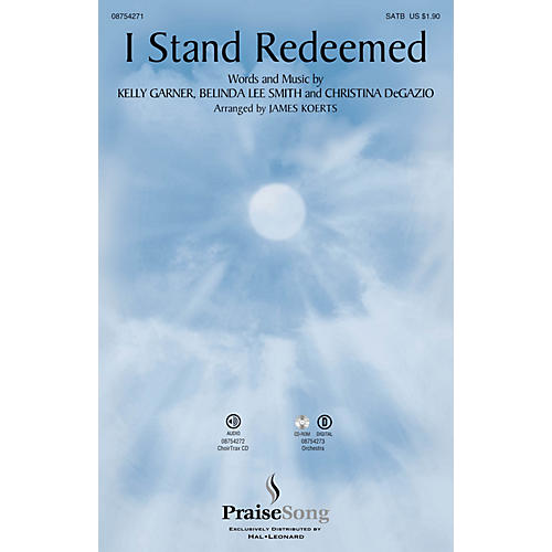 PraiseSong I Stand Redeemed SATB by Legacy Five arranged by James Koerts-thumbnail