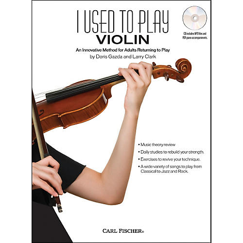 Carl Fischer I Used To Play Violin Book/CD-thumbnail