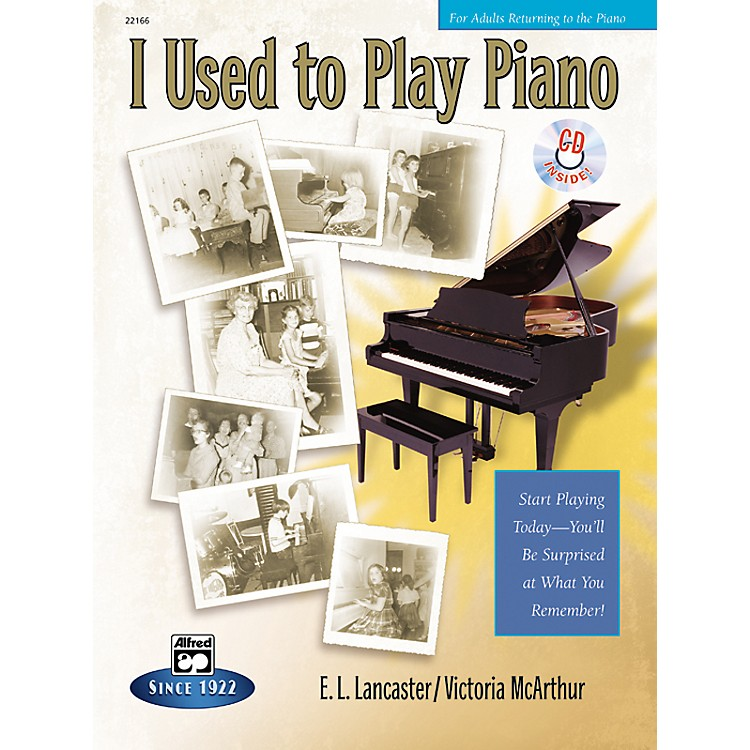 AlfredI Used to Play Piano (Book/CD)