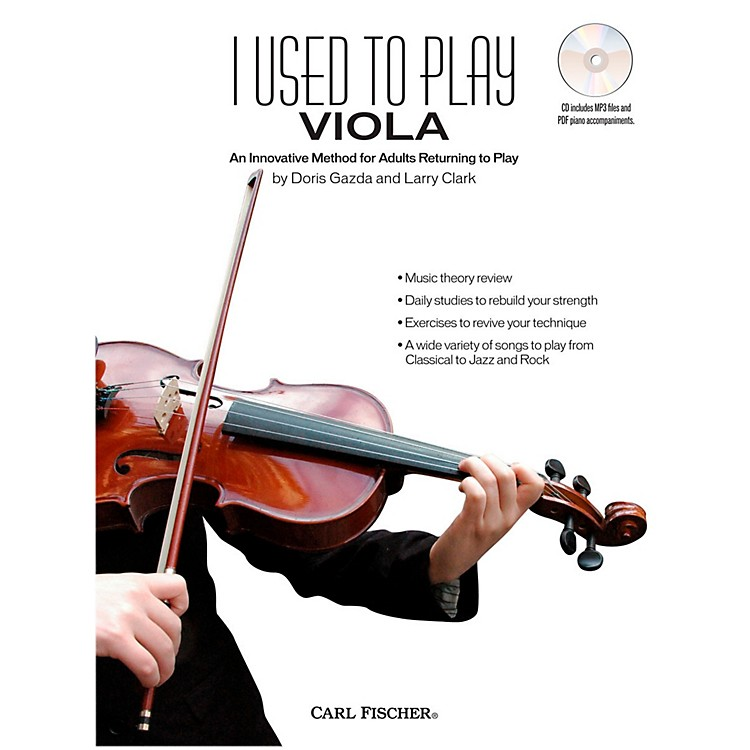 Carl FischerI Used to Play Viola (Book + CD)