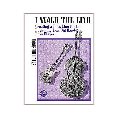 Hal Leonard I Walk the Line Jazz Combo Playing Book-thumbnail