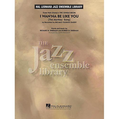 Hal Leonard I Wan'na Be Like You (from The Jungle Book) Jazz Band Level 4 Arranged by John Wasson-thumbnail