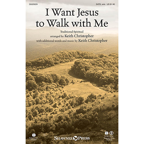Shawnee Press I Want Jesus to Walk with Me SATB arranged by Keith Christopher-thumbnail