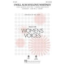 Hal Leonard I Will Always Love Whitney (ShowTrax CD) ShowTrax CD by Whitney Houston Arranged by Mac Huff
