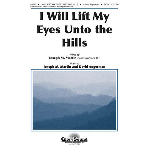 Shawnee Press I Will Lift My Eyes Unto the Hills SATB composed by Joseph M. Martin-thumbnail