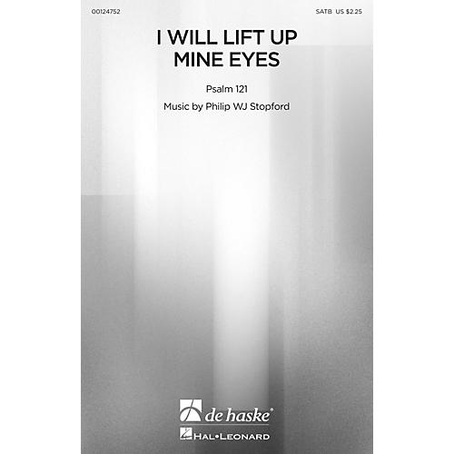De Haske Music I Will Lift Up Mine Eyes SATB composed by Philip Stopford-thumbnail
