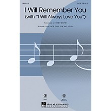 Hal Leonard I Will Remember You (with I Will Always Love You) ShowTrax CD by Whitney Houston Arranged by Kirby Shaw