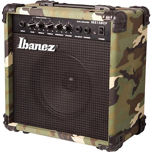 Ibanez IBZ Series IBZ15BCF 15W 1x6 Bass Combo Amp