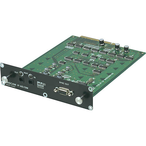 TASCAM IF-AD/DM 8-Channel Digital ADAT I/O Expansion Card for SX-1/DM-24