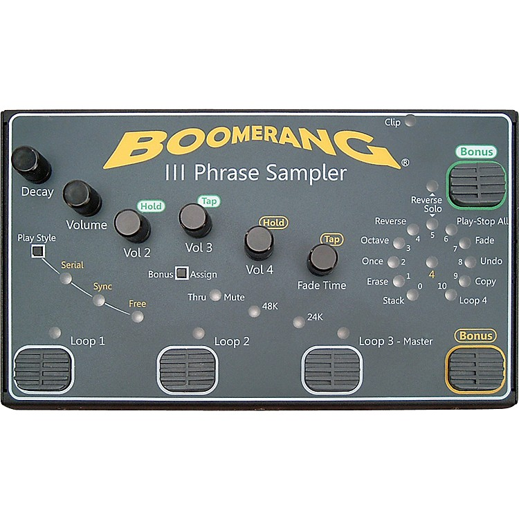 BoomerangIII Phrase Sampler