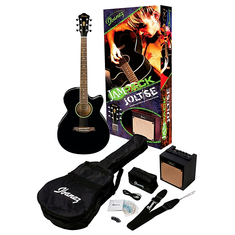 Ibanez IJAE5 JamPack Jolt/SE Acoustic-Electric Guitar Pack