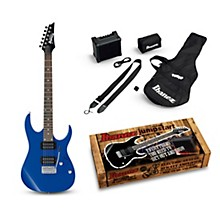 Ibanez IJRG220Z Electric Guitar Package Blue