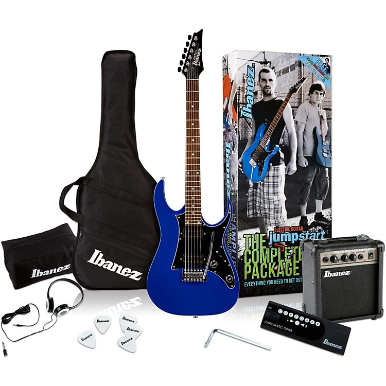 Ibanez IJX200 Electric Guitar Value Pack Blue