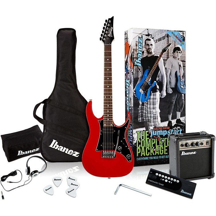 Ibanez IJX200 Electric Guitar Value Pack Red
