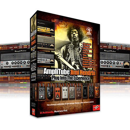 IK Multimedia IK AmpliTube 2 Jimi Hendrix Software Download-thumbnail