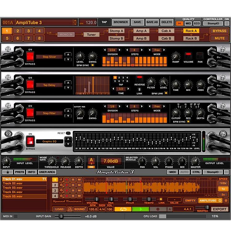 IK MultimediaIK AmpliTube 3 Software Download