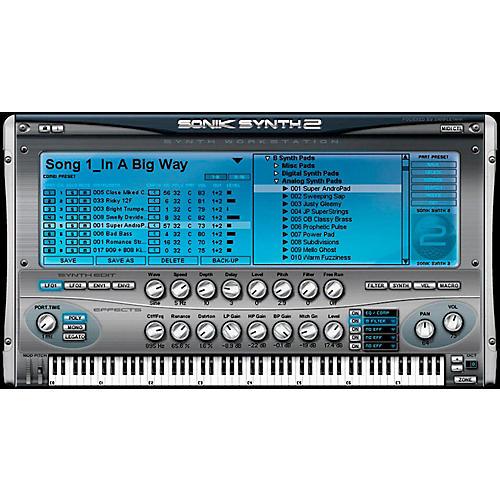 IK Multimedia IK Sonik Synth 2 Software Download