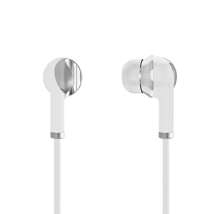 Koss IL100 Noise-Isolating In-Ear Stereophones (White/Silver)